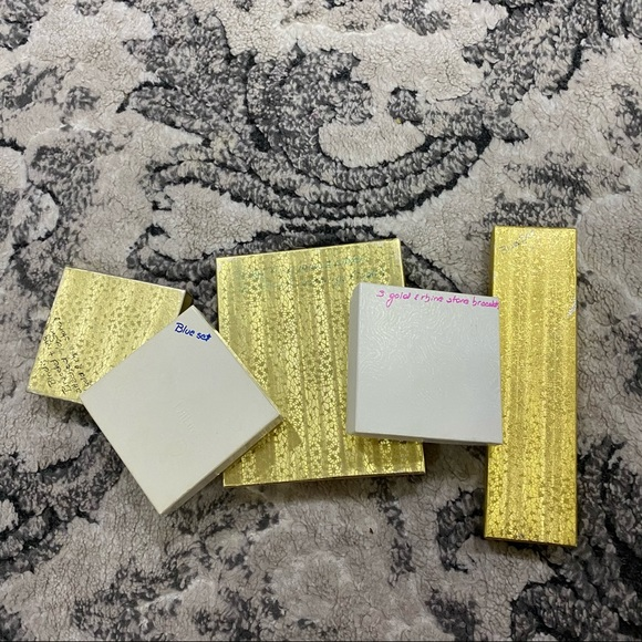 (Lot of 5) Empty Jewelry Boxes